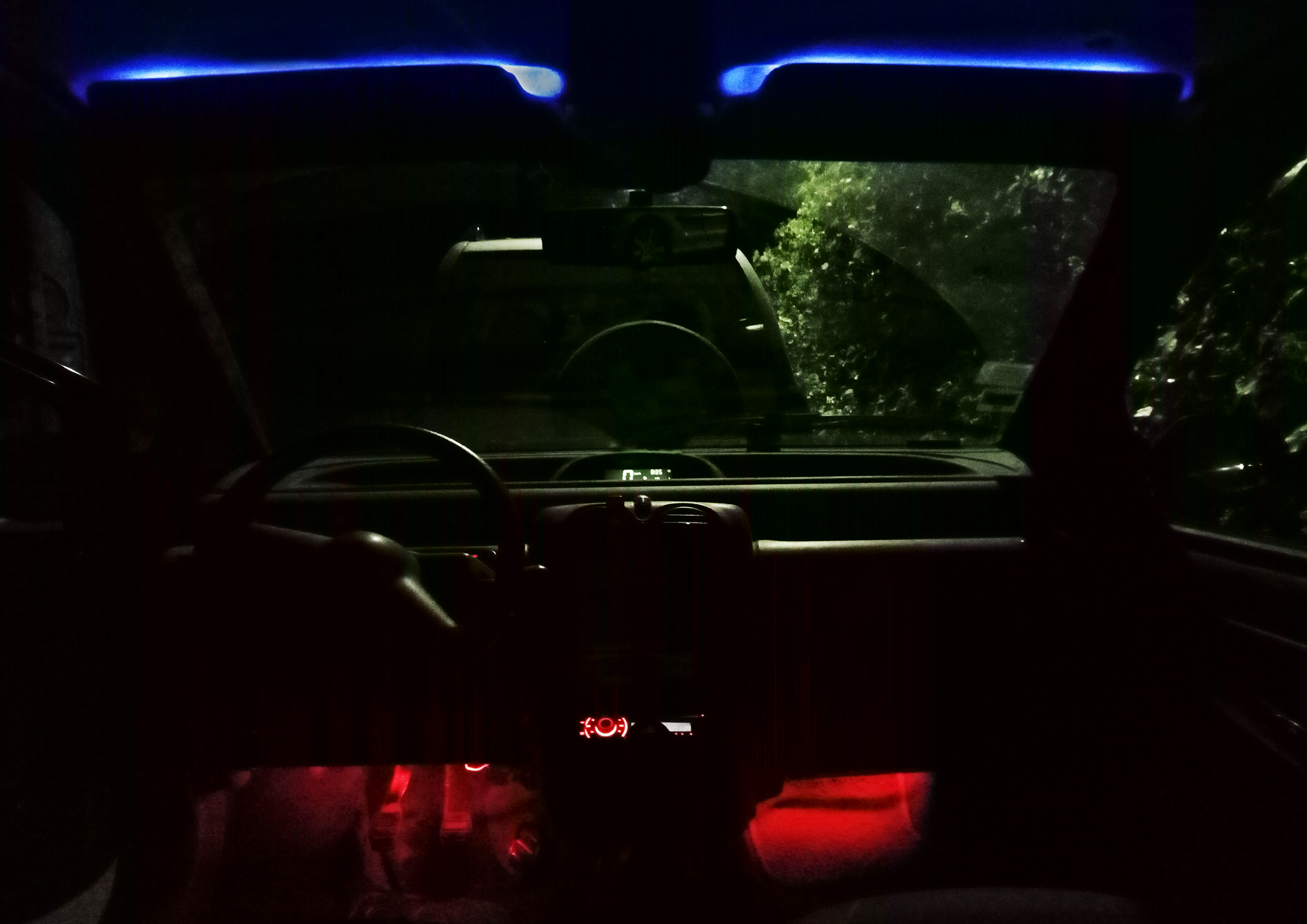 rendu de nuit intérieur