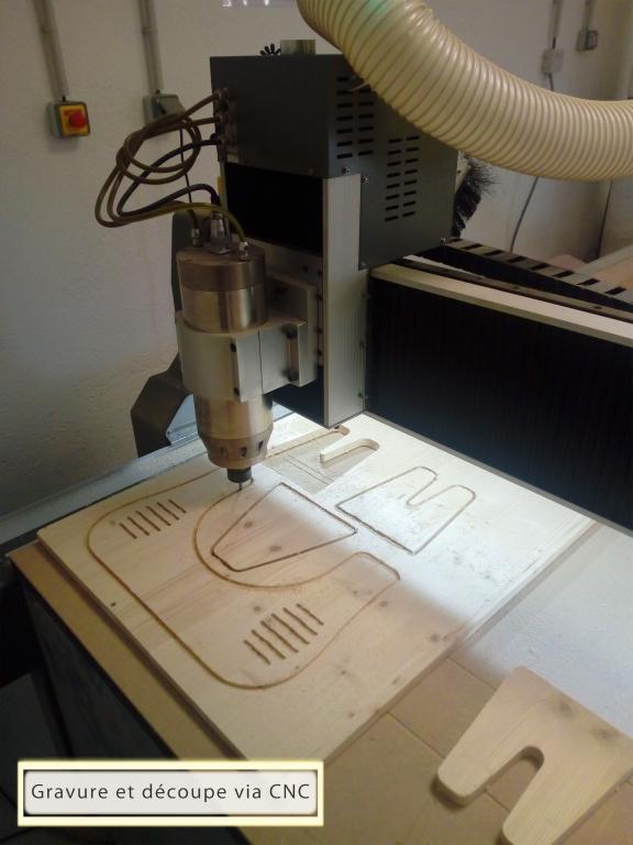 Découpage et gravure